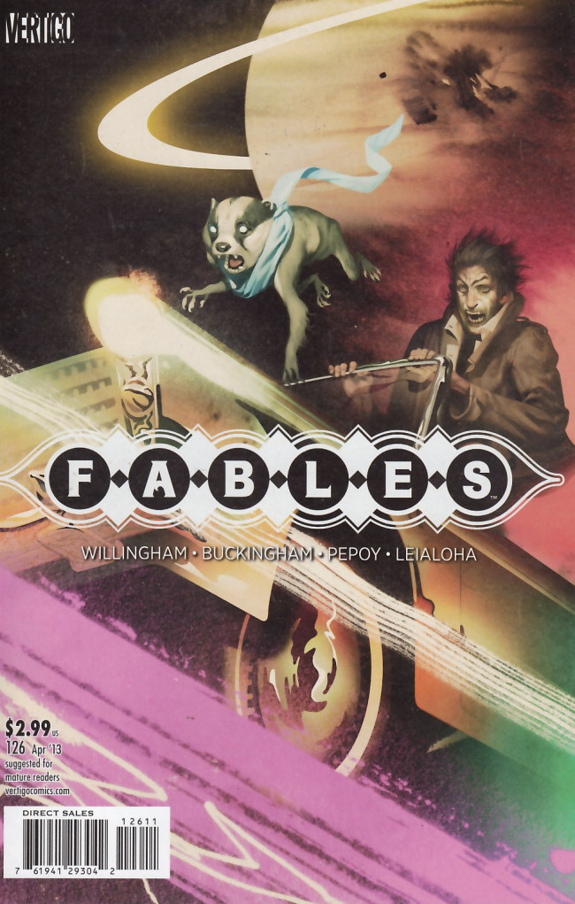 Couverture de Fables (2002) -126- Fabletown by the book