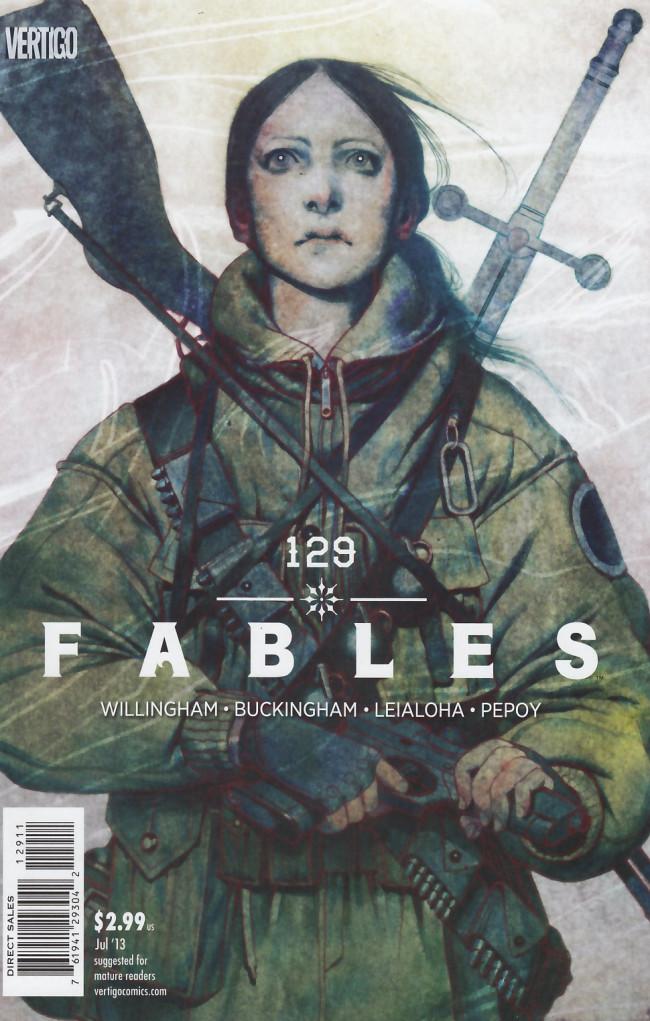 Couverture de Fables (2002) -129- Snow falling on glass