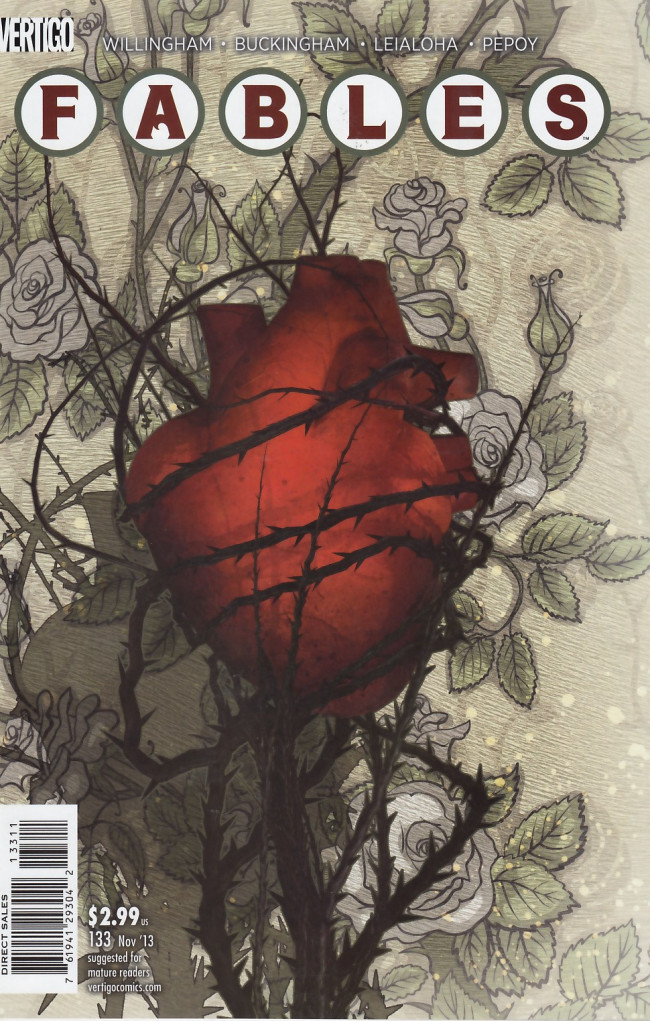 Couverture de Fables (2002) -133- Straight through the heart