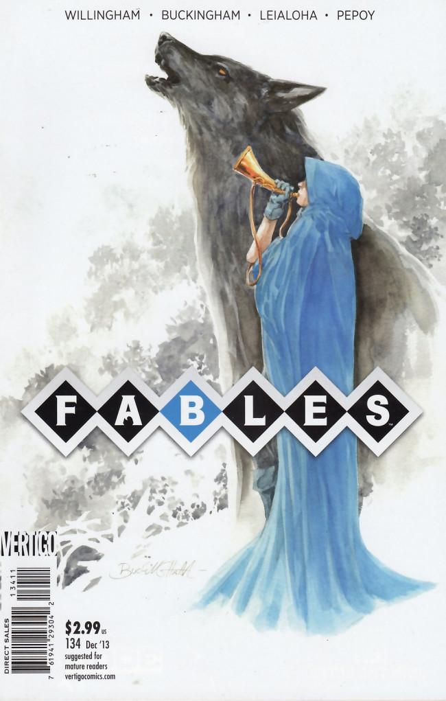 Couverture de Fables (2002) -134- Deeper into the woods