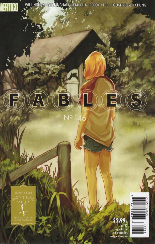 Couverture de Fables (2002) -146- The Thomas Wolfe Syndrome