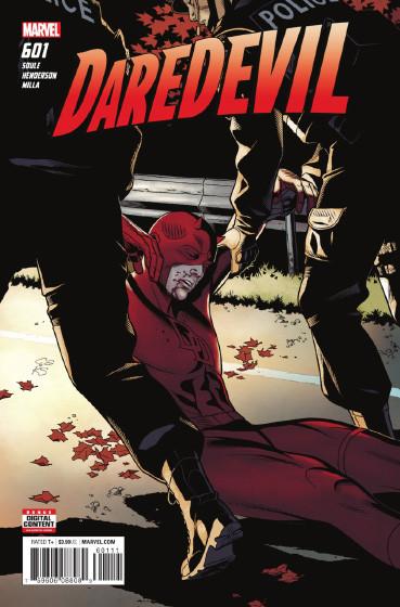 Couverture de Daredevil Vol. 1 (Marvel - 1964) -601- Untitled