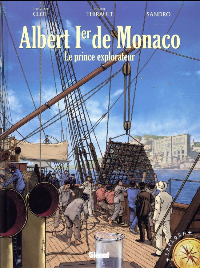 Couverture de Albert 1er de Monaco -1- Le prince explorateur