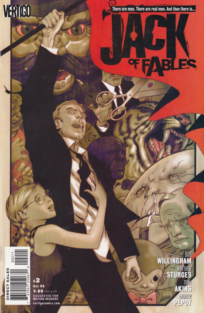 Couverture de Jack of Fables (2006) -2- Jack in the box