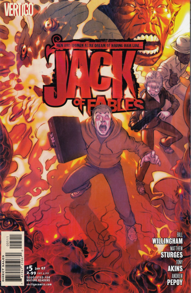 Couverture de Jack of Fables (2006) -5- Jack, off