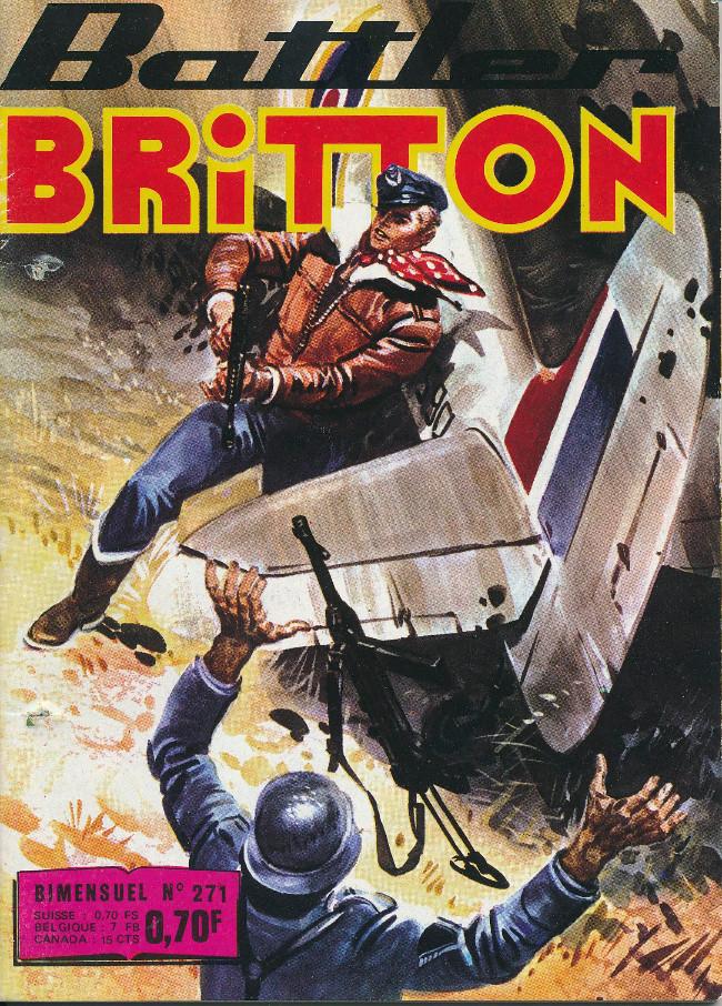Couverture de Battler Britton -271- Le zeppelin invisible