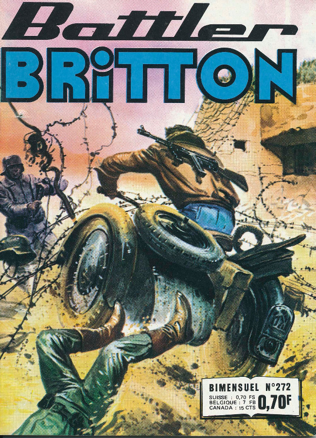 Couverture de Battler Britton -272- Passagers clandestins