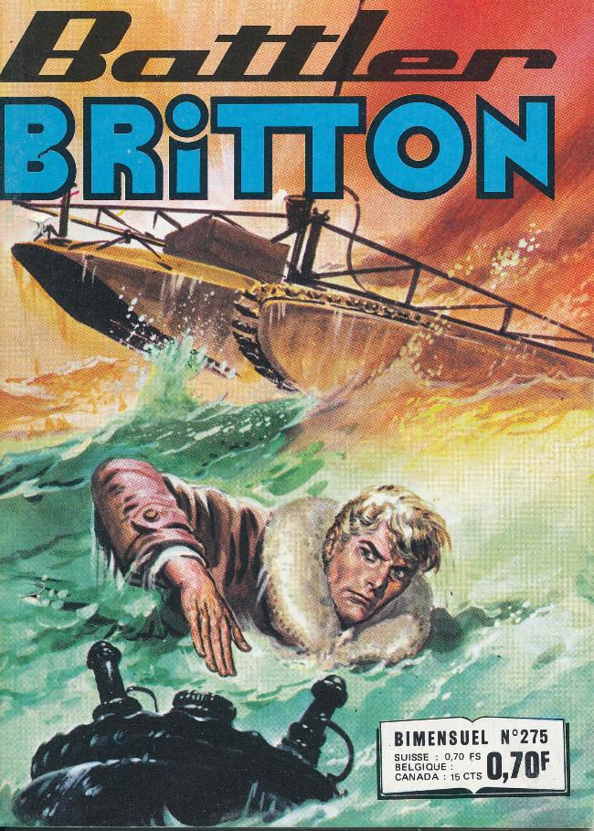 Couverture de Battler Britton -275- Avec les pieds sur terre...
