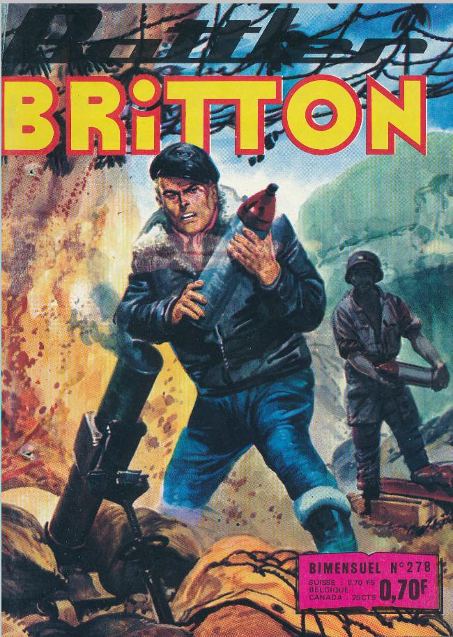 Couverture de Battler Britton -278- Dans la gueule du loup