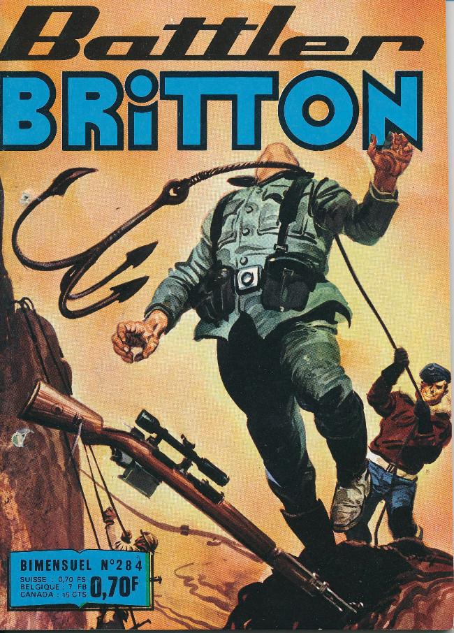 Couverture de Battler Britton -284- Ballade pour une tortue