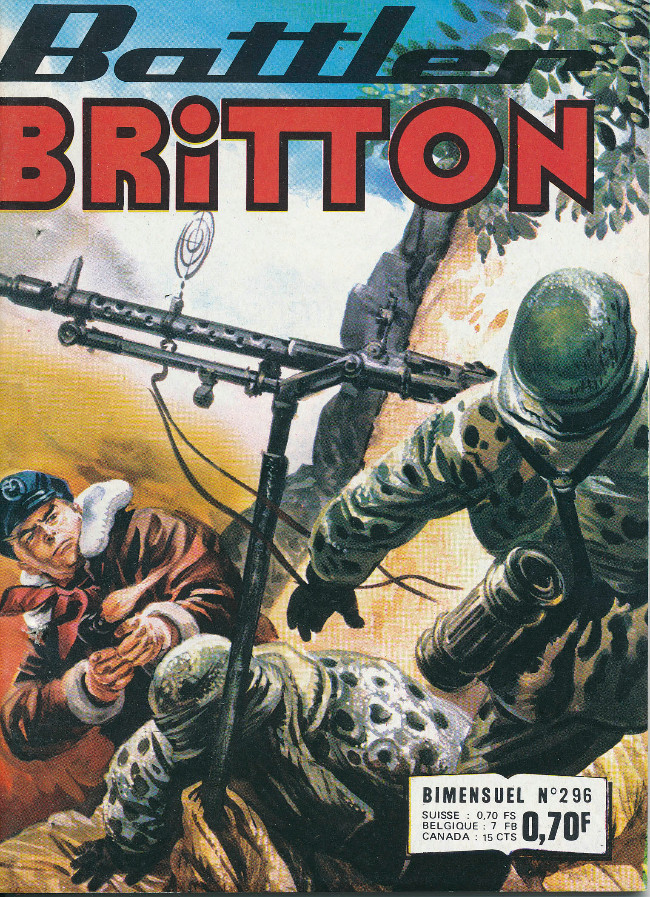 Couverture de Battler Britton -296- Intransigeance