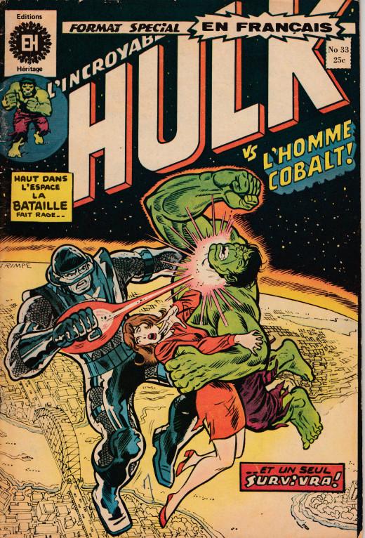 Couverture de L'incroyable Hulk (Éditions Héritage) -33- La fin du monde... en Australie !