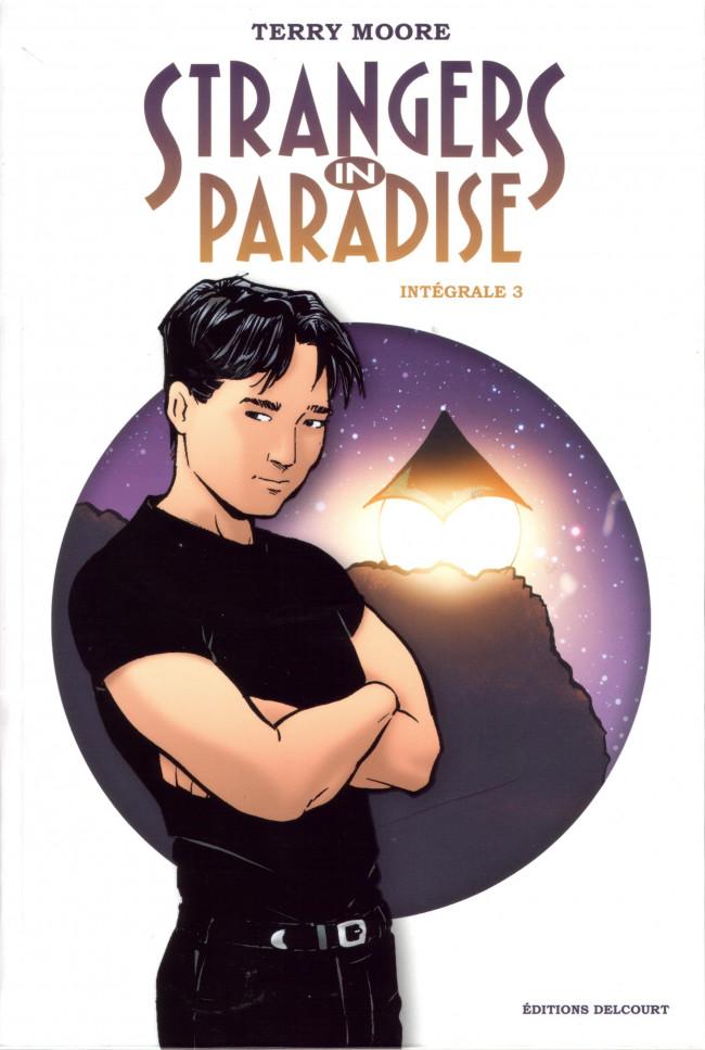 Couverture de Strangers in paradise -INT3- Intégrale 3