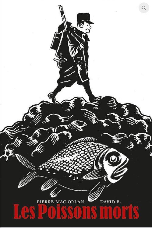 Couverture de (AUT) David B. - Les poissons morts