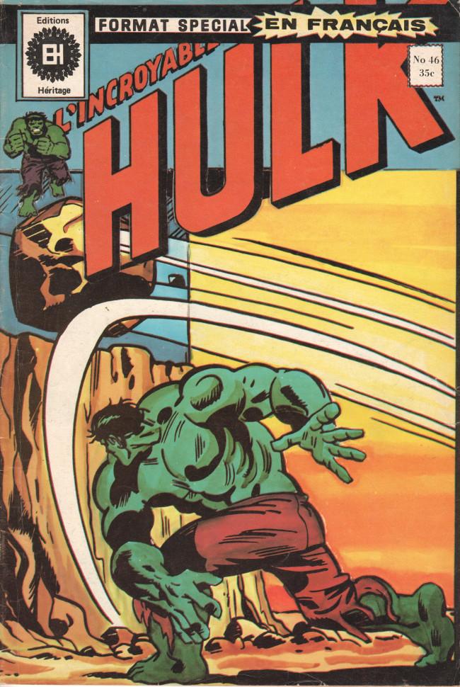 Couverture de L'incroyable Hulk (Éditions Héritage) -46- Un lutin dans les rouages !