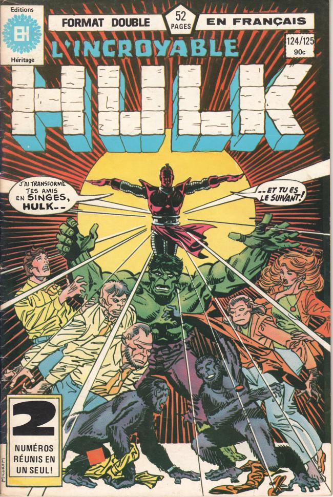 Couverture de L'incroyable Hulk (Éditions Héritage) -124125- ... Ce dont vous avez besoin
