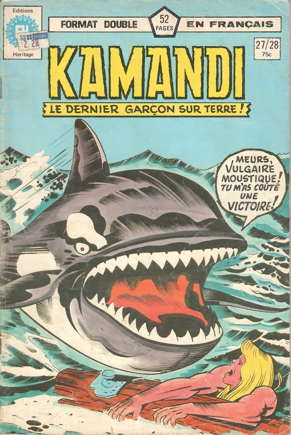 Couverture de Kamandi (Éditions Héritage) -2728- Le Baron rouge