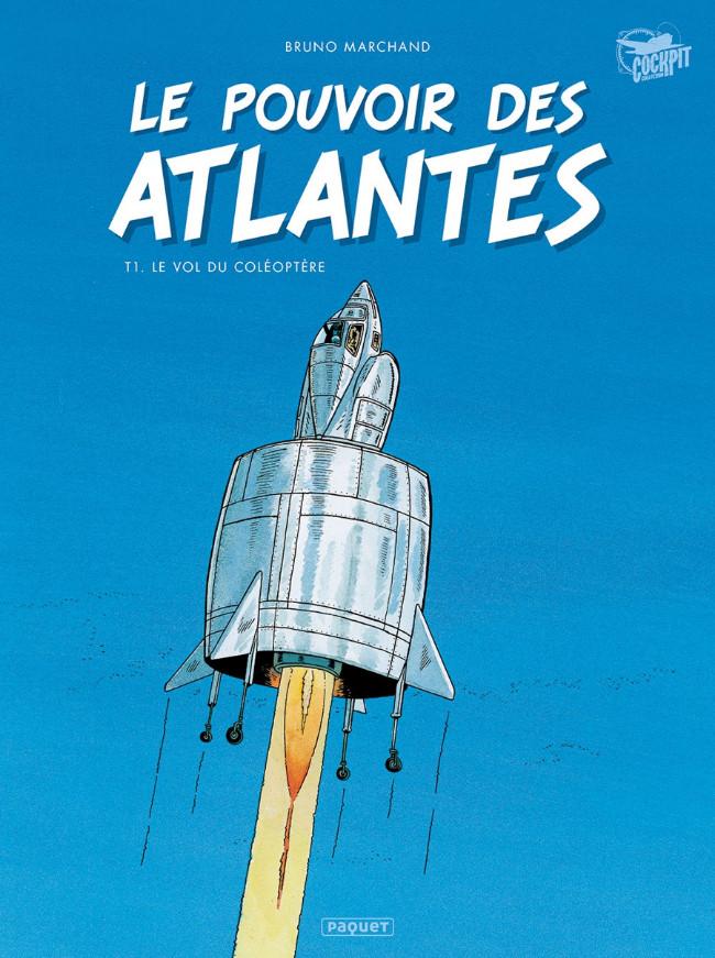 Couverture de Le pouvoir des Atlantes -1- Le Vol du coléoptère