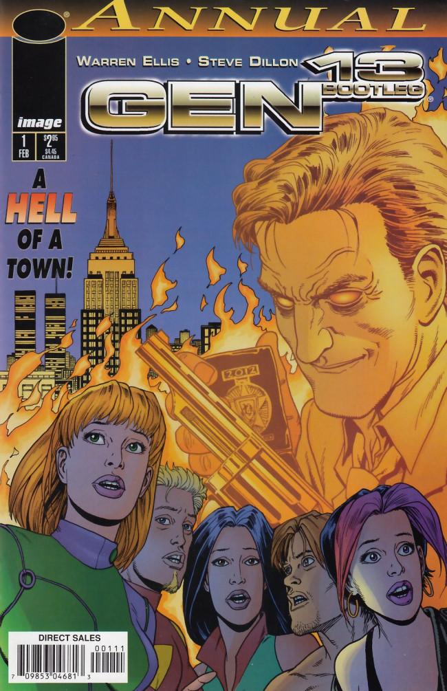 Couverture de Gen13 Bootleg (1996) -AN01- New York confidential