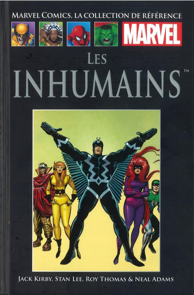 Couverture de Marvel Comics - La collection (Hachette) -109IX- Les Inhumains