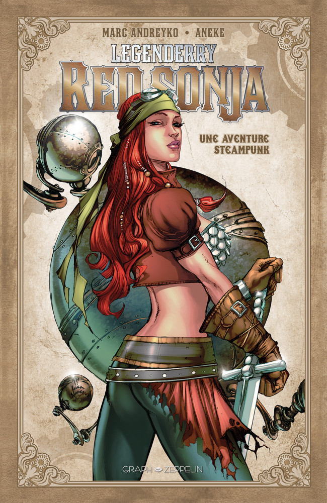 Couverture de Legenderry -3- Red Sonja