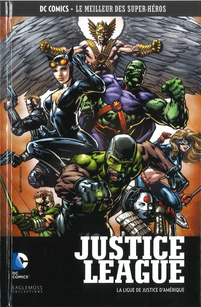 Couverture de DC Comics - Le Meilleur des Super-Héros -69- Justice League - La Ligue de Justice d'Amérique