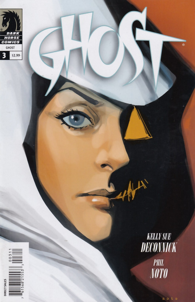 Couverture de Ghost (Dark Horse - 2012) -3- In the smoke and din part 3