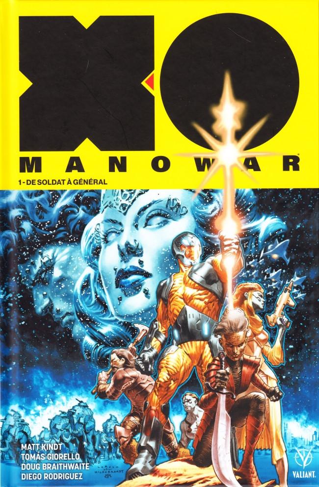 Couverture de X-O Manowar (2018) -1- De soldat à général