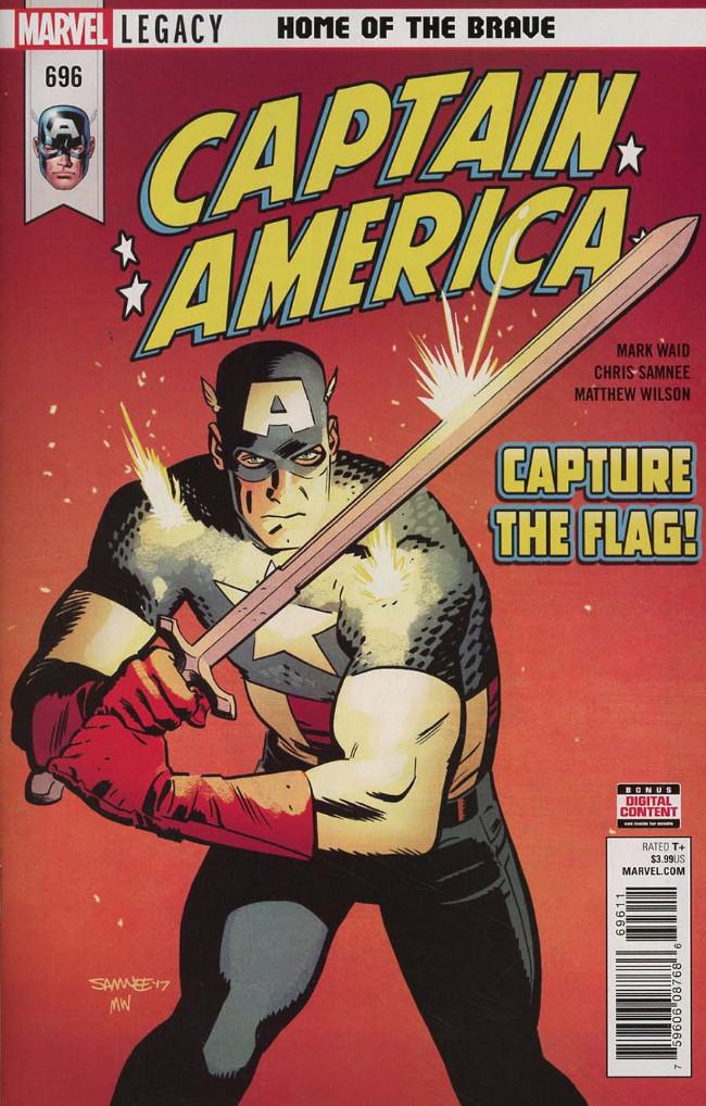 Couverture de Captain America (1968) -696- Home the Brave - Part 2