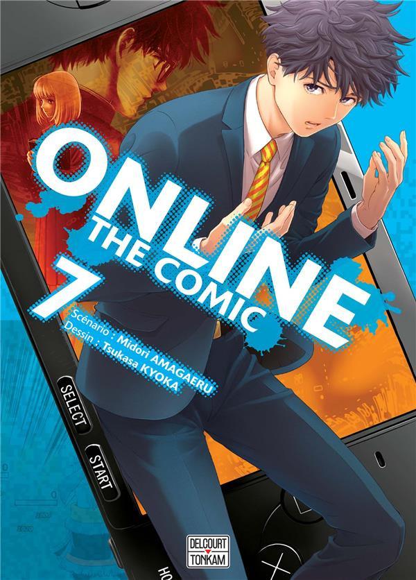 Couverture de Online the comic -7- Tome 7