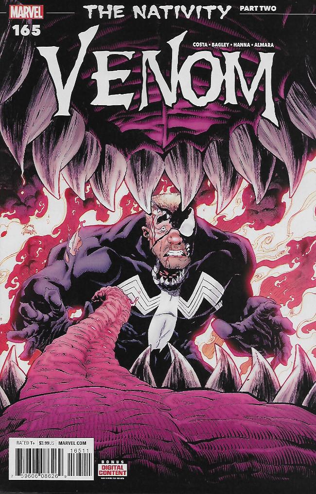 Couverture de Venom Vol. 3 (Marvel comics - 2017) -165- The Nativity part Two