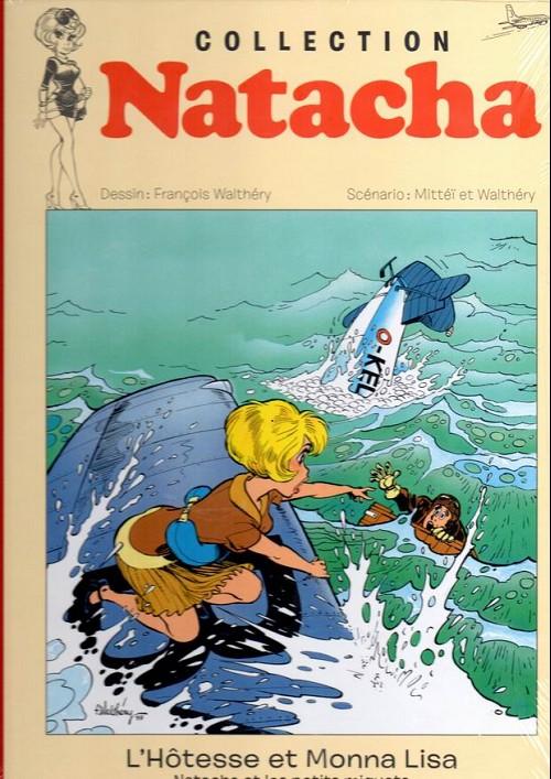 Couverture de Natacha - La Collection (Hachette) -7- L'hôtesse et Monna Lisa
