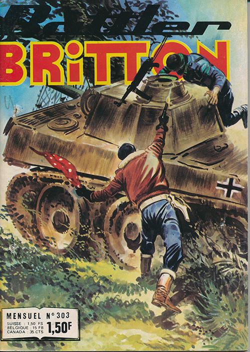 Couverture de Battler Britton -303- Une permission tranquille