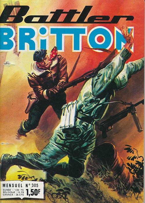 Couverture de Battler Britton -305- L'escadrille des naufragés