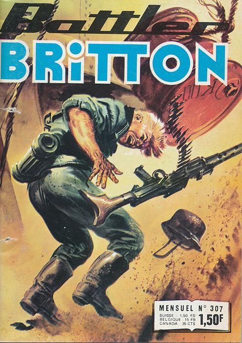 Couverture de Battler Britton -307- Pour la liberté