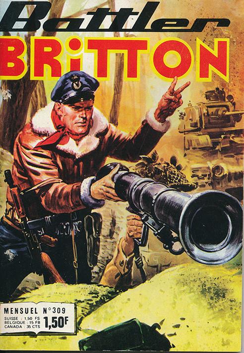 Couverture de Battler Britton -309- Un repos mérité