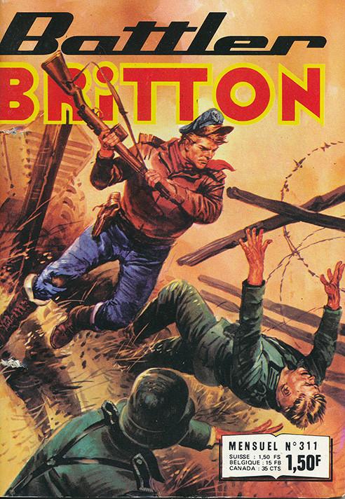 Couverture de Battler Britton -311- Position