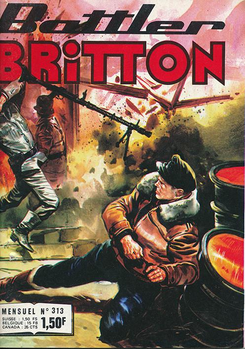 Couverture de Battler Britton (Imperia) -313- Le porte-bonheur