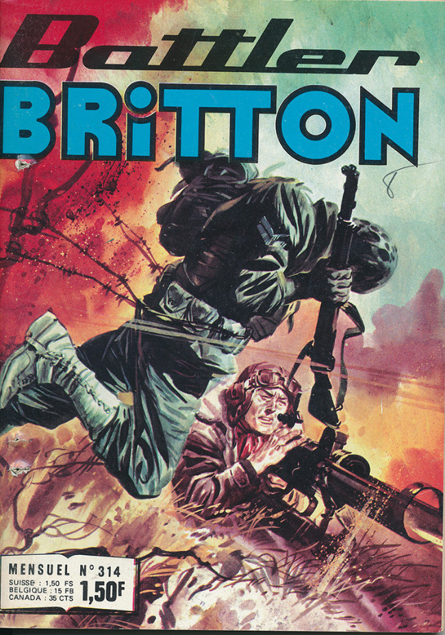 Couverture de Battler Britton (Imperia) -314- La patrouille fantôme