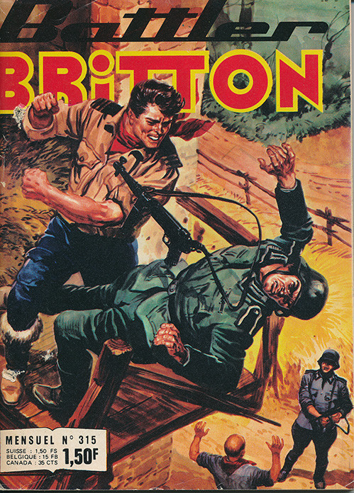 Couverture de Battler Britton -315- Répit
