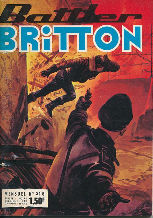 Couverture de Battler Britton (Imperia) -316- Le miroir de la trahison