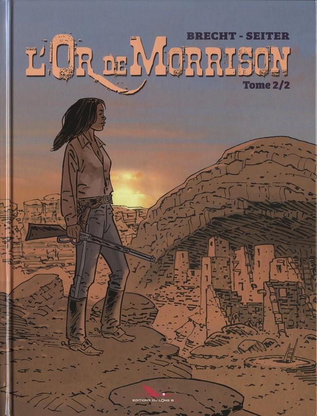 Couverture de L'or de Morrison -2- Tome 2/2