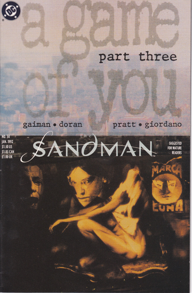 Couverture de Sandman (The) (1989) -34- 3 Bad Moon Rising [A Game of You Part 3]