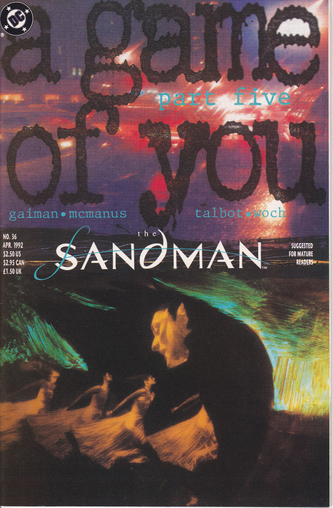 Couverture de Sandman (The) (1989) -36- 5: Over The Sea to Sky [A Game of You Part 5]