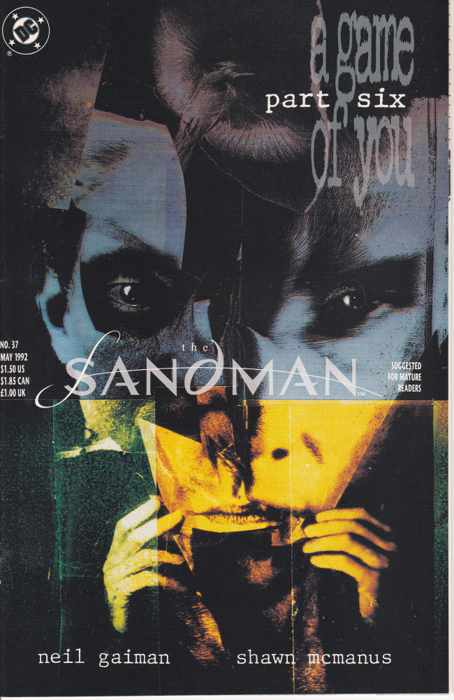 Couverture de Sandman (The) (1989) -37- I Woke Up and One of Us Was Crying. [A Game of You Part 6]