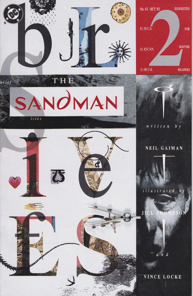 Couverture de Sandman (The) (1989) -42- Brief Lives 2
