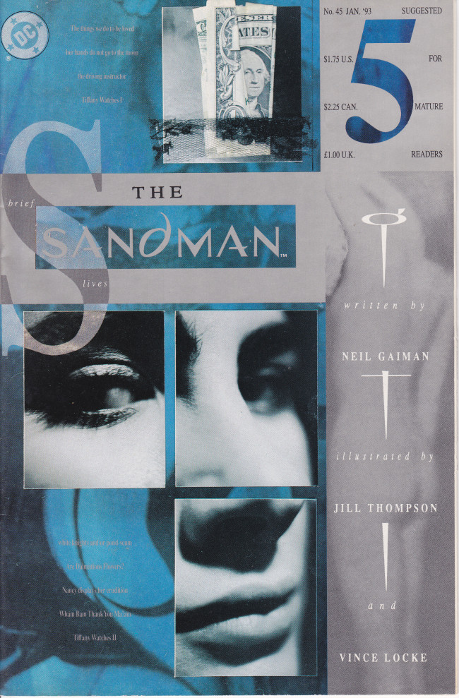 Couverture de Sandman (The) (1989) -45- Brief Lives 5