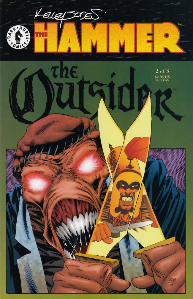 Couverture de Hammer (the): The outsider (1999) -2- The Hammer: The outsider - Legend of yesterday