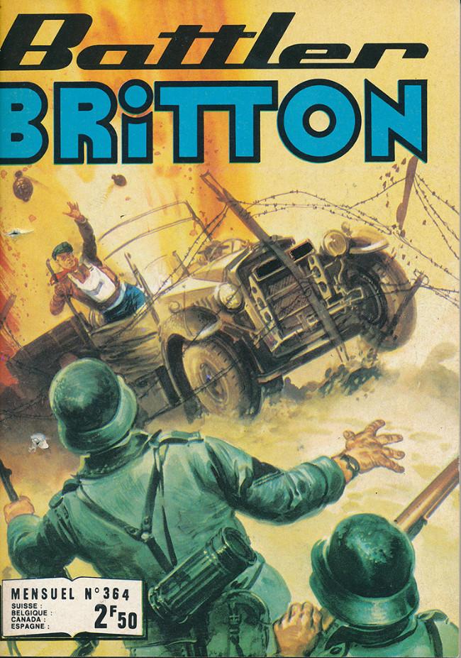 Couverture de Battler Britton -364- Canon volant