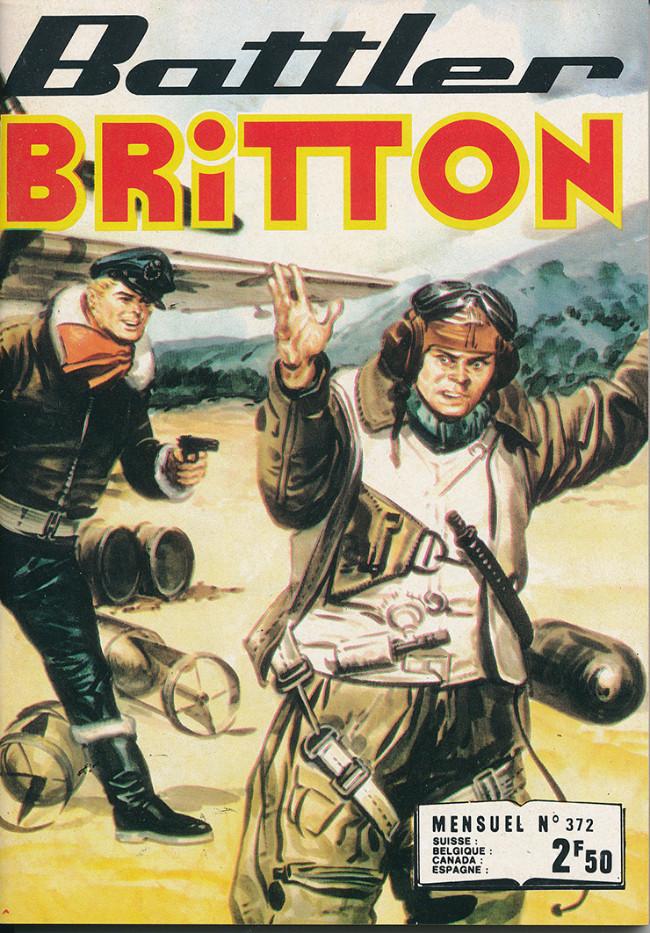 Couverture de Battler Britton -372- Pilotes en Norvège